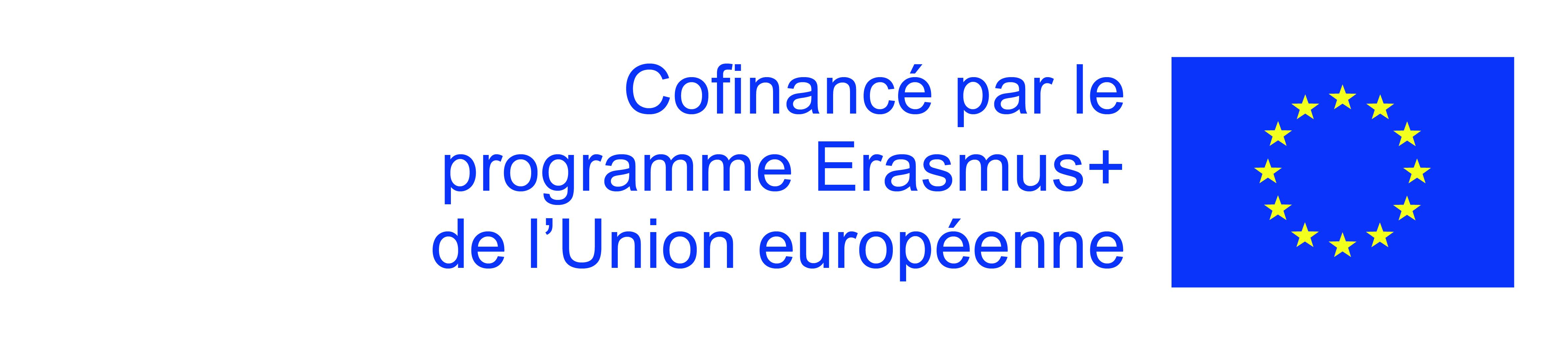 Logo Union Européenne - Cofinancement Erasmus+