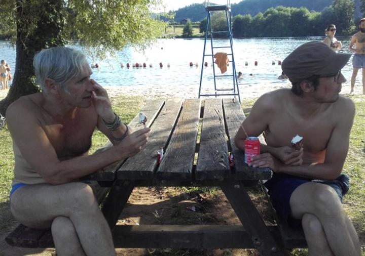 Konrad Kaniuk et Renaud Golo
