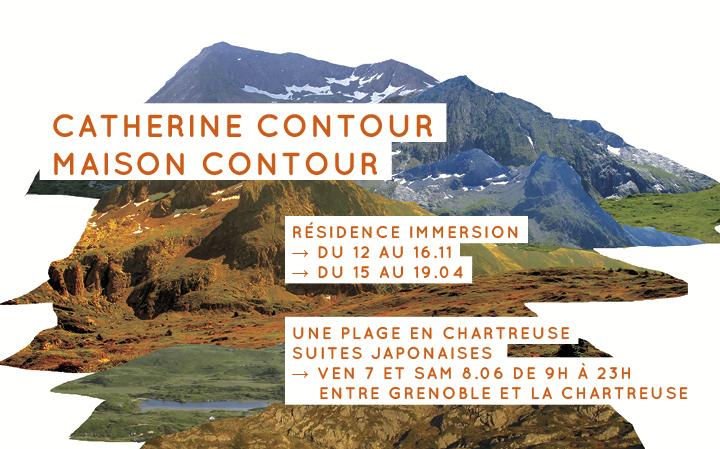Catherine Contour - Une plage en Chartreuse - Suites japonaises