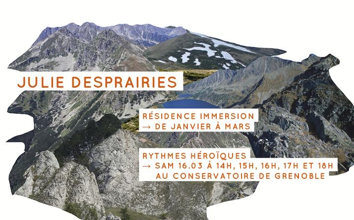 Julie Desprairies - Rythmes héroïques au Conservatoire de Grenoble