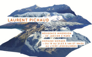 Laurent Pichaud - Domaine nomade au Lycée Lesdiguières