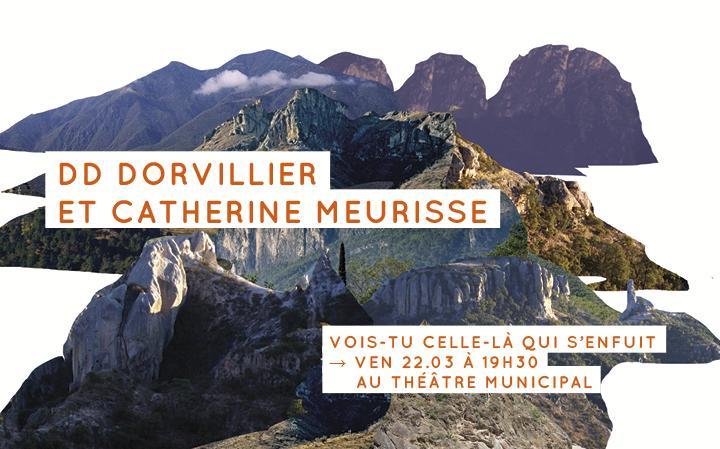 DD Dorvillier et Catherine Meurisse - Vois-tu celle-là qui s'enfuit
