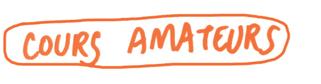 Cours amateurs