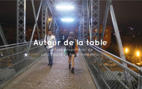 Autour de la table - Loïc Touzé et Anne Kerzhero