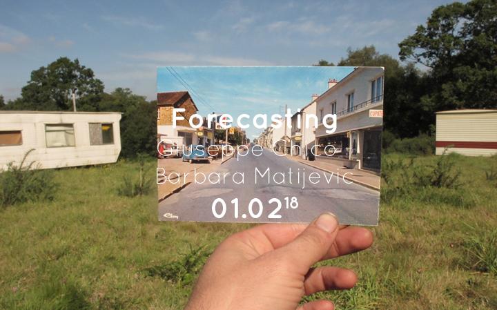 Forecasting - Giuseppe Chico et Barbara Matijevic
