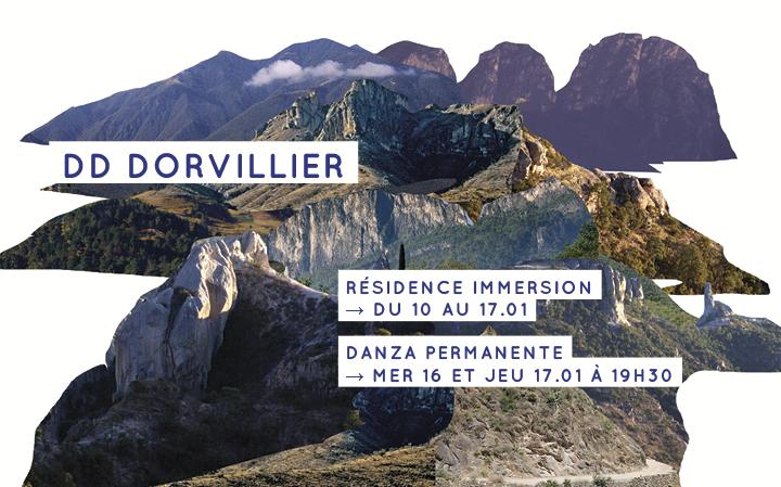 DD Dorvillier - Danza Permanente - 16 et 17.01 à 19h30