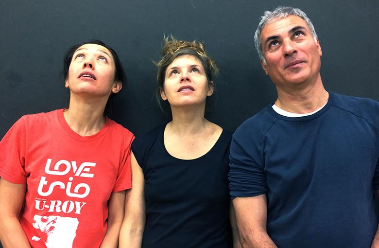 Julie Nioche, Filiz Sizanli et Mustafa Kaplan