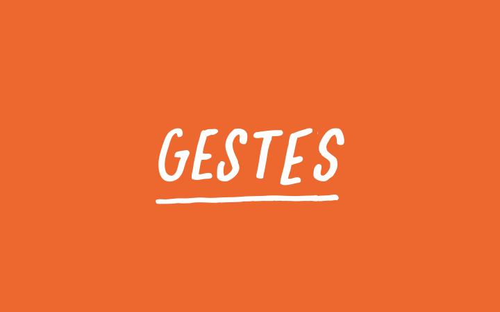 Gestes